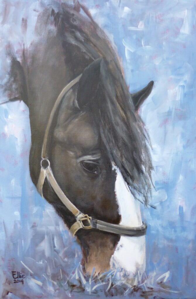 Abby - Paardenschilderij - Ellie Schrotenboer